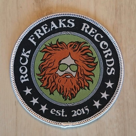 Rock Freaks Records Patch