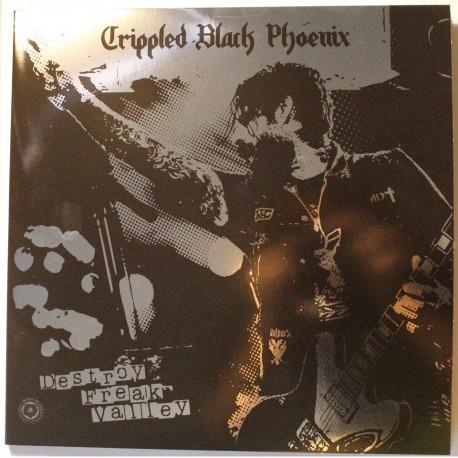 Crippled Black Phoenix - Destroy Freak Valley - schwarz/weiß