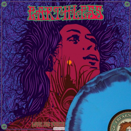 Earthless - Live at Freak Valley- cyanblue/purple