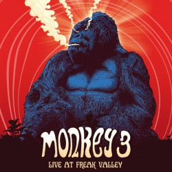 Monkey 3 . Live at Freak Valley - orange