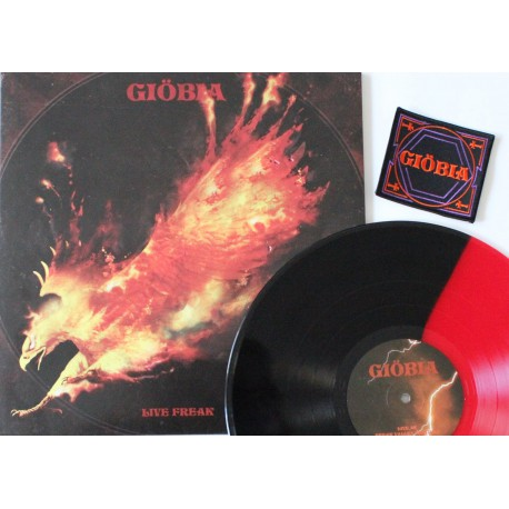 Giöbia - Live Freak - red / black