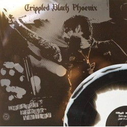 Crippled Black Phoenix - Destroy Freak Valley - schwarz/weiß