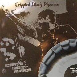 Crippled Black Phoenix - Destroy Freak Valley - schwarz/grau