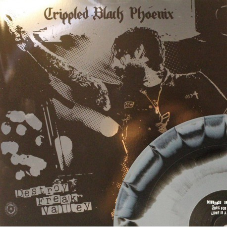 Crippled Black Phoenix - Destroy Freak Valley - schwarz/grau