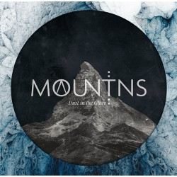 Mountains - Dust In The Glare - milky clear / white splatter