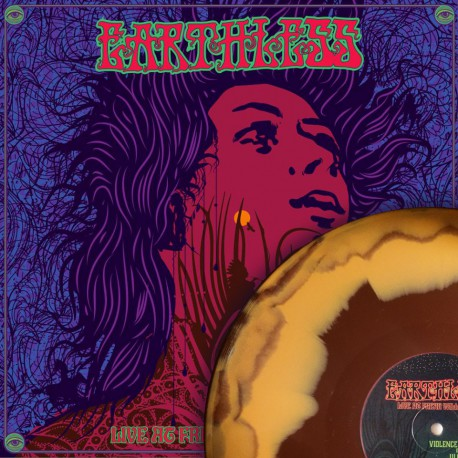 Earthless - Live at Freak Valley- brown/orange