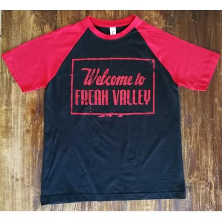 WTFV - Raglan Shirt - black/red - men
