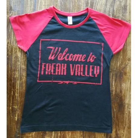 WTFV - Raglan Shirt - black/red - lady