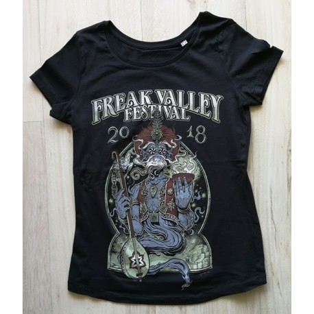 FVF2018 - Shirt - Djinn -black - lady