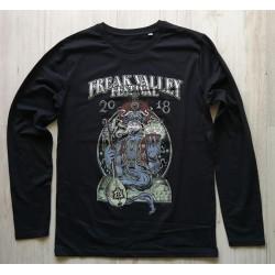 FVF2018 - Longsleeve Shirt - Djinn -black - men