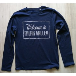 WTFV - Longsleeve Shirt - navy - men