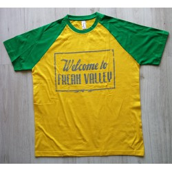 WTFV - Raglan Shirt - gold/kelly green - men - grau