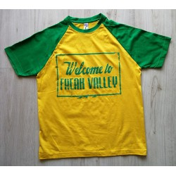 WTFV - Raglan Shirt - gold/kelly green - men - grün