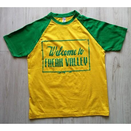 WTFV - Raglan Shirt - gold/kelly green - men - grün