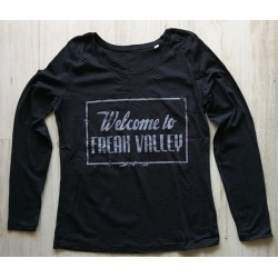 WTFV - Longsleeve Shirt - black - lady