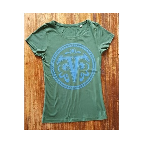 Freak Valley Festival LOGO - Shirt  -bottlegreen - lady