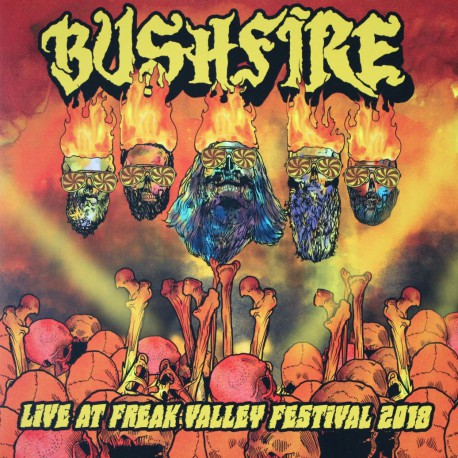 Bushfire - Live At Freak Valley Festival 2018 - black Vinyl